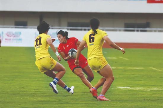 全面模拟赛场环境 中国女子橄榄球从实战出发备战