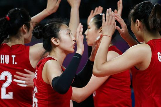 2018年亚运会赛场上。(图片来源:视觉中国)