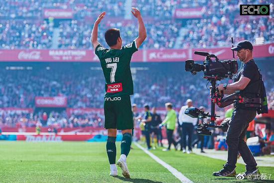 武磊效应助西甲建中国合资公司:他是中国足球英雄