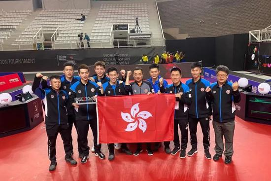 刘国栋同中国香港乒乓球一起:逐梦东京筑梦未来