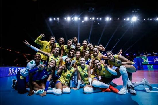 巴西女排底蕴犹在 经验是她们奥运会最大的武器