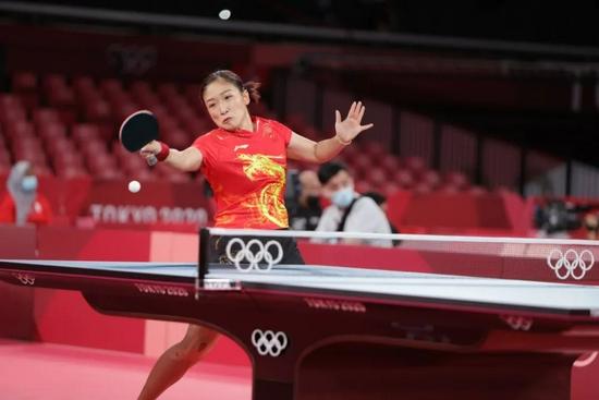 国际乒联宣布刘诗雯退出奥运女团 确认文件合规