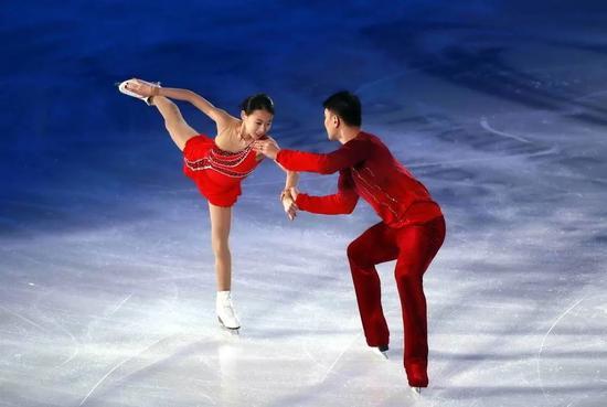 2014年中国杯时的彭程/张昊