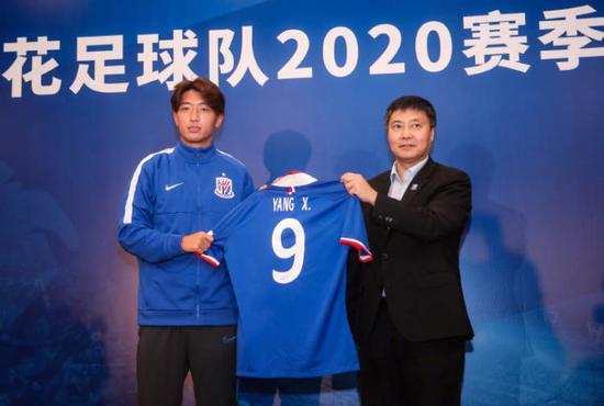 杨旭谈于汉超加盟:阵容更强大 希望为上海拿座奖杯