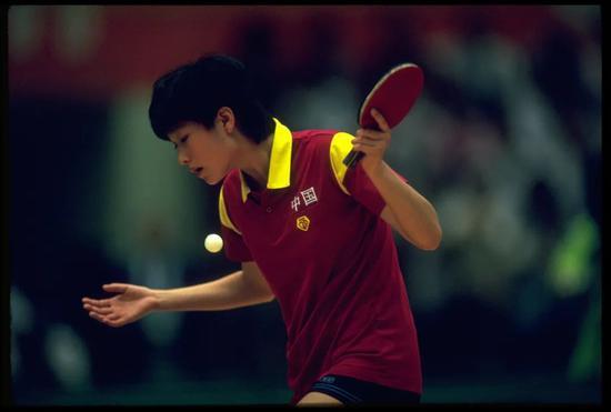 陈静拿到了乒乓球史上首个奥运会女单冠军