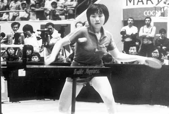 李粉姬将朝鲜女队的冲击力推到了历史最高峰
