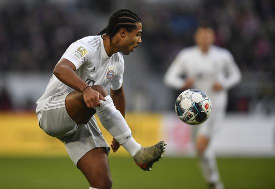 格纳布里参与当日拜仁操练 全队将接受新冠检测