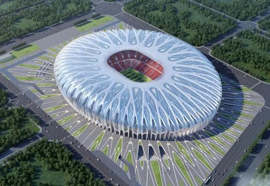 恒大官宣再建两座8万人球场 邀球迷票选设计方案
