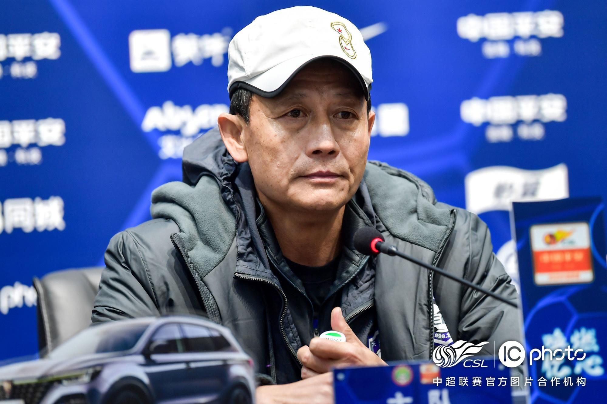 王宝山:落后时没有过于忧虑 团队比利马进球重要