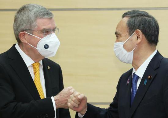 巴赫访日本释放啥信号? 运动员都打疫苗IOC付钱