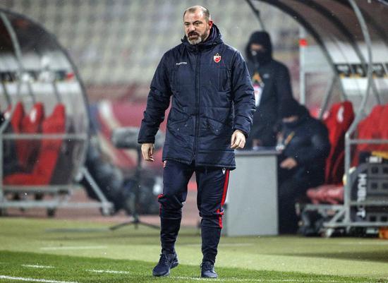 贝尔格莱德红星主教练斯坦科维奇在欧联杯的抽签典礼后接受了采访