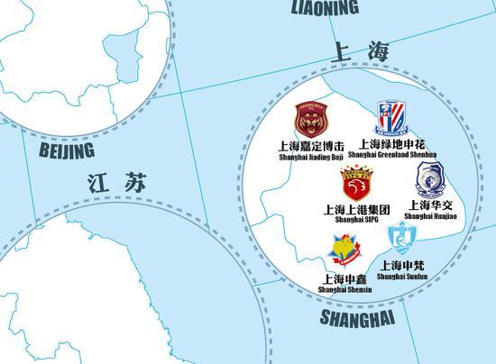 上海地图 2018