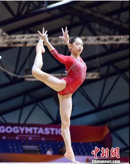 世锦赛冠军刘婷婷。