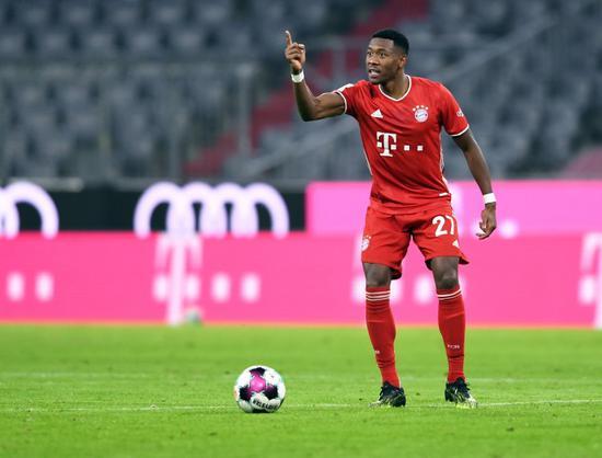 阿拉巴:不会被转会问题所影响 拜仁仍将是德甲冠军!