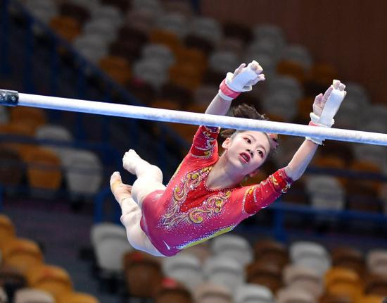 体操冠军赛夺冠 韦筱圆:这是我有史以来最好成果