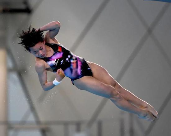 女子十米跳台14岁选手有望进军奥运 05后风头强劲
