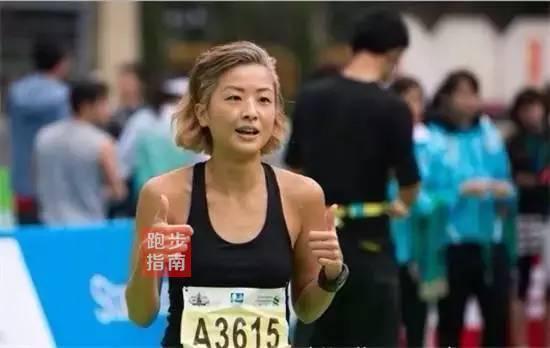 在她眼中,完善马拉松就像当上港姐相通喜悦,这栽健康的运脱手段让她享福其中。