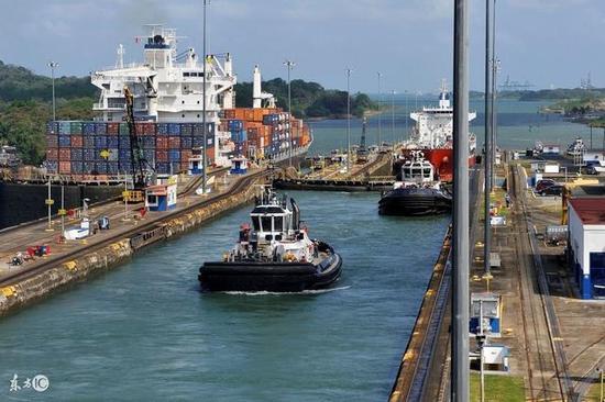 著名的巴拿马运河