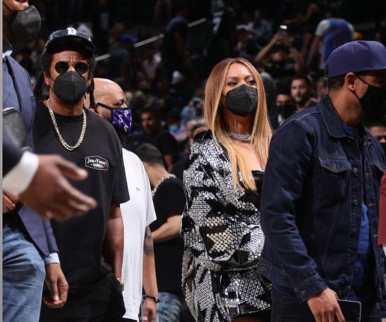 碧昂斯和Jay-Z都来了