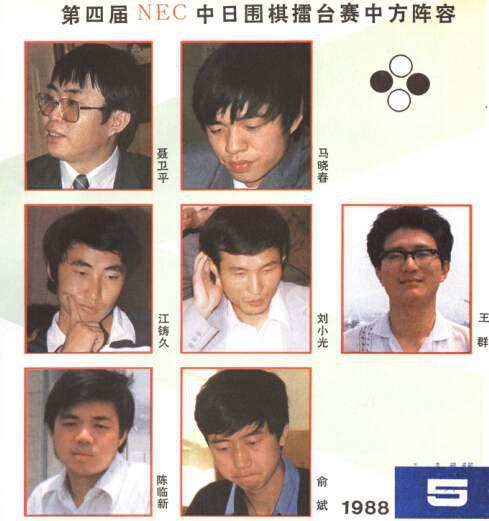 中国队阵容