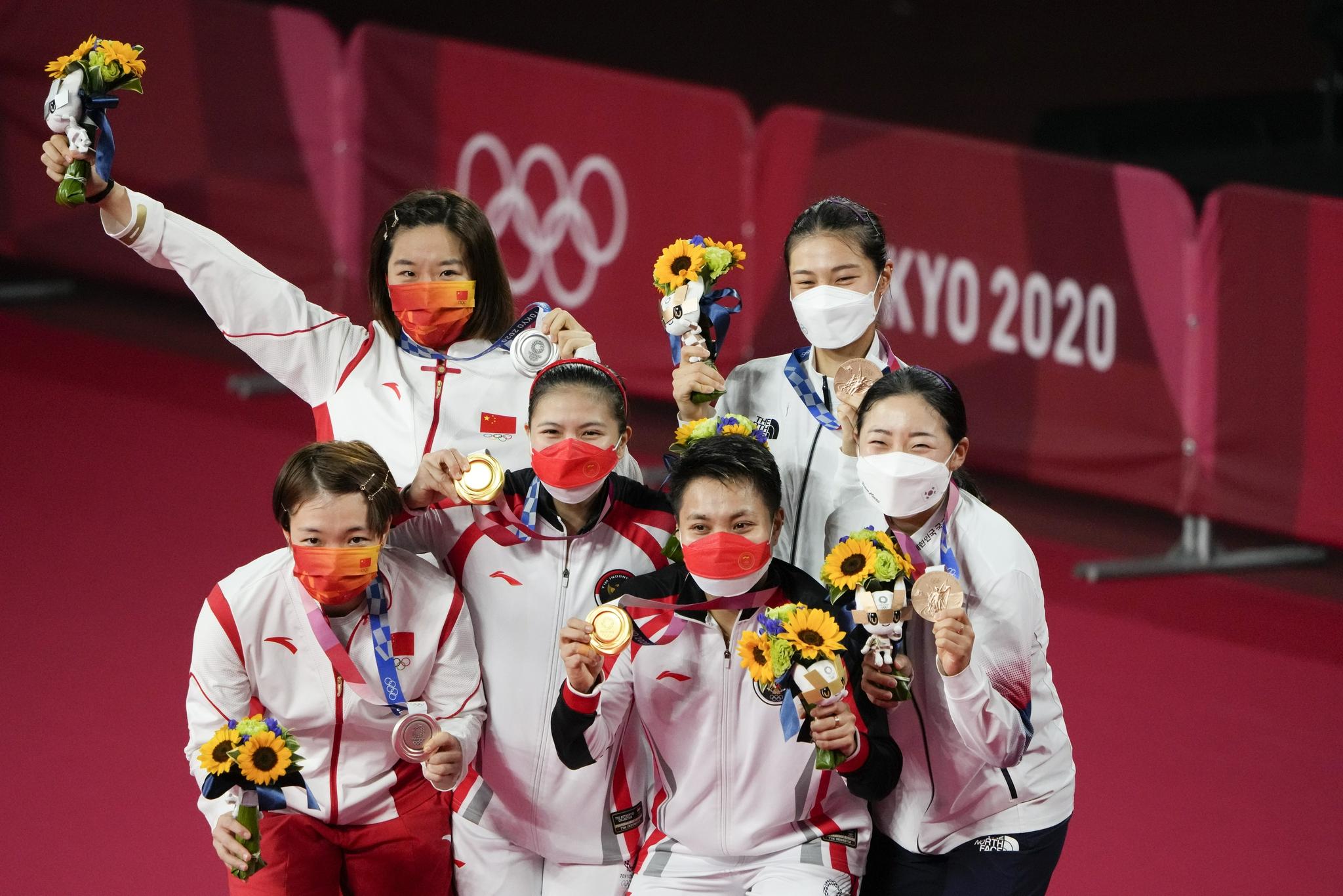 大国大团!东京奥运展现中国选手自信率真亲和