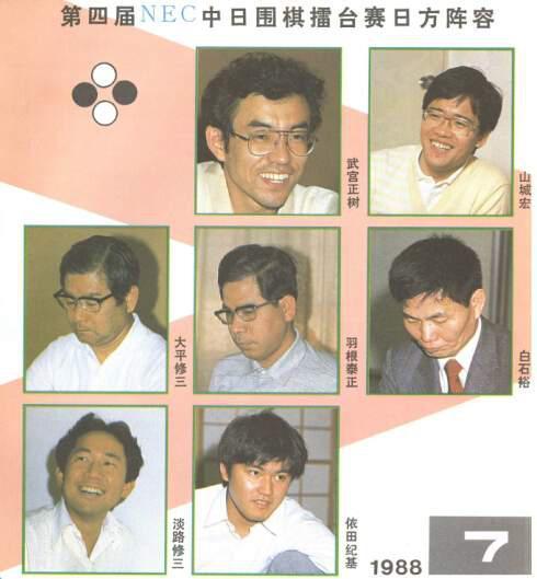 日本队阵容