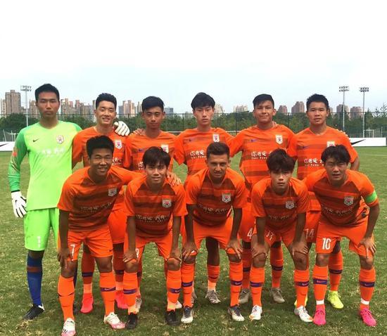 鲁能U19红队