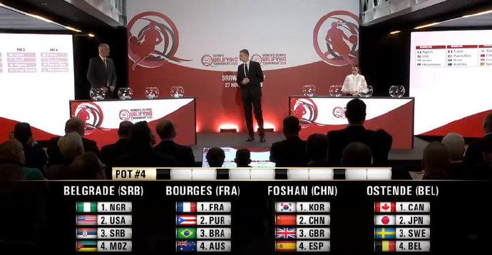 奥运落选赛:中国女篮与韩国英国西班牙同组