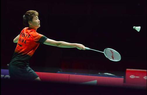 陳雨菲已經獲得奧運會參賽資格