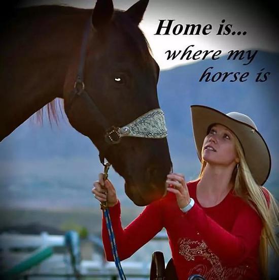 Amberley Snyder和她的喜欢马