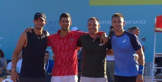 德约举办的网球比赛发生荟萃性感染。