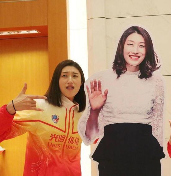上赛季效力上海女排的韩国外助金柔景