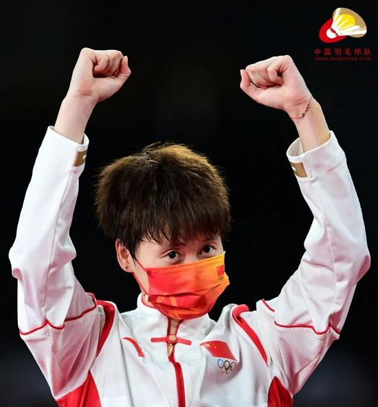陈雨菲:集体荣誉大于个人荣誉 不要骄傲不忘初心
