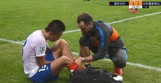 张弛左腿胫骨骨折需静养两个月 等你康复满血归来