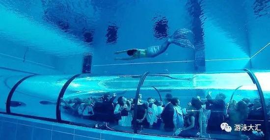 """国际""""最深""""泳池纪录被改写 相当于27个奥运泳池"""