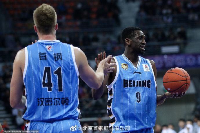 北京队宣布更换外援 艾派-尤度替换汉密尔顿