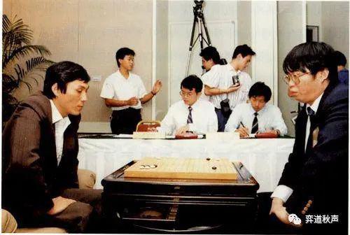 聂卫平、曹薰铉争取首届答氏杯