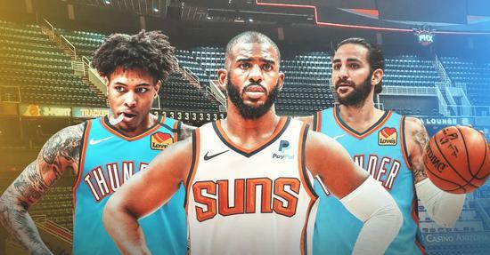 NBA生意商场正式翻开,太阳和雷霆的生意也正式到达,