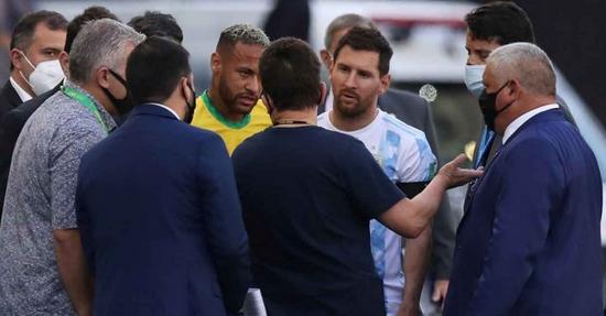 梅西之队会被判0:3么?为何入场喊停的还有警察
