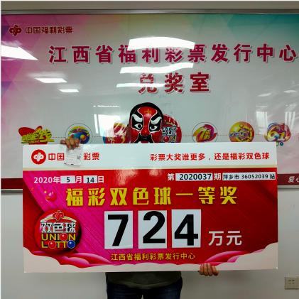 資深彩民42元攬雙色球724萬:核對完獎號就懵了