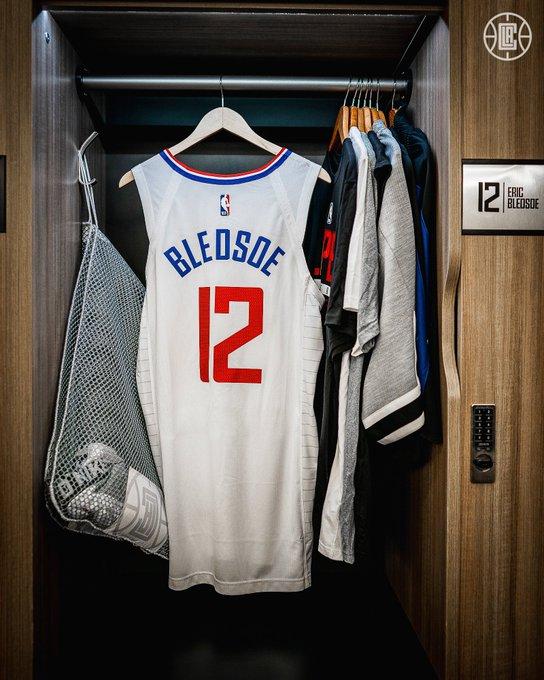 布雷德索回归快船 球队官宣他将身穿12号球衣