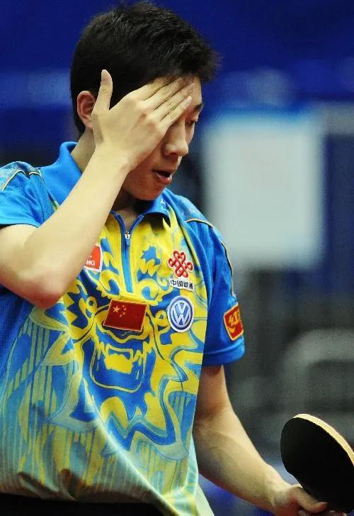 2009年横滨,许昕第一次参添世乒赛单打比赛