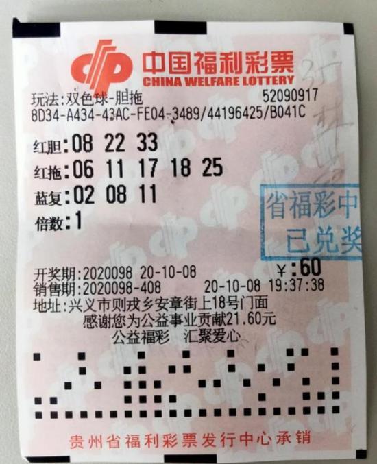 老彩民生日号投注中双色球841万:最大的生日惊喜!