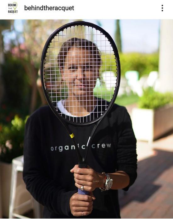 (图:Behind the Racquet社交媒体)