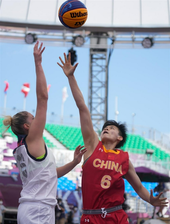 中国三人篮球奥运1胜3负 放下过往做回一张白纸