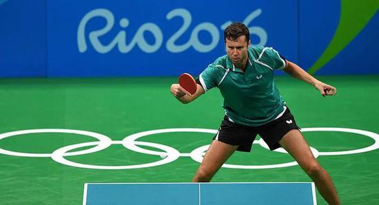 2016年,萨姆索诺夫在里约奥运会上闯入男单4强