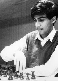 18 years old Anand by chessbase.in