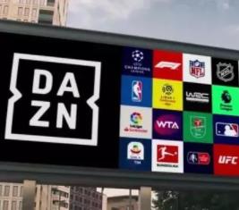 DAZN获得的赛事版权