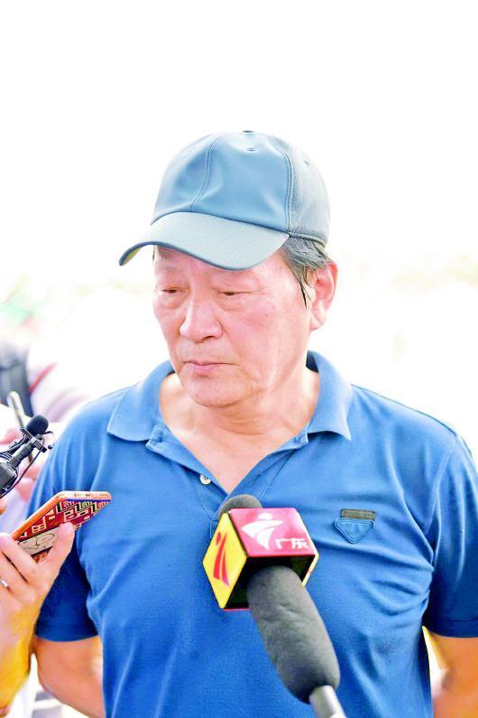 ▲朱广沪长期致力于中国足球青训。