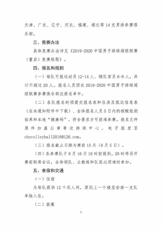 男排联赛8月20日至9月2日在秦皇岛封闭举行 推荐 第3张